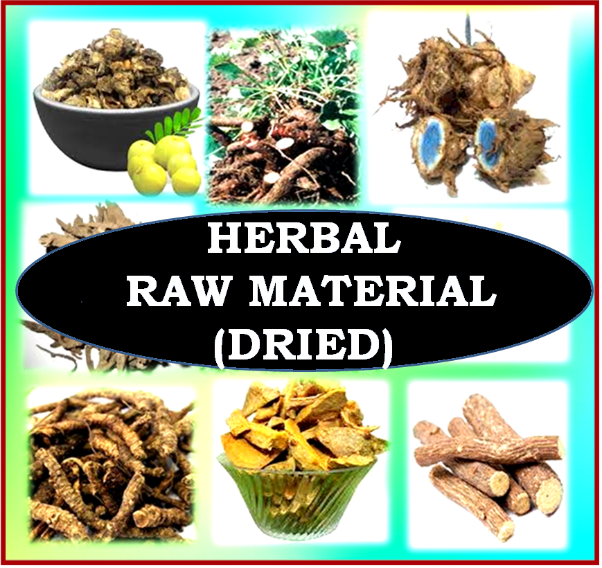 HERBAL RAW MATERIALS (DRIED)